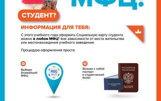 Что дает социальная карта студента в москве в 2020 году