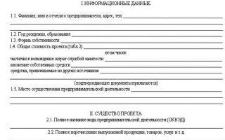 Бизнес-план для центра занятости в 2020 году — написать, получения субсидии, форма