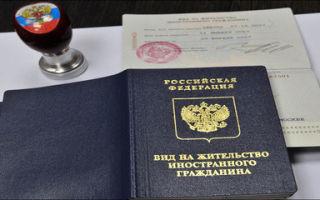 Вид на жительство лицам без гражданства рф (внж) в 2020 году — что это такое, россии, получение, образец