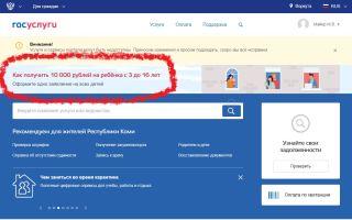 Как получить выплату 33 000 рублей на ребенка от 3 до 7 лет — пошагово