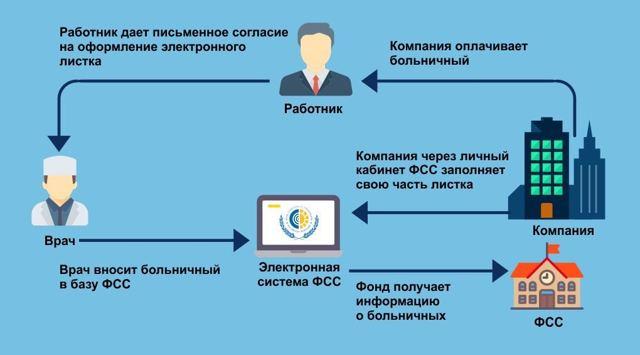 Как работает электронный лист нетрудоспособности (ЭЛН) в 2020 году - пример, заполнения