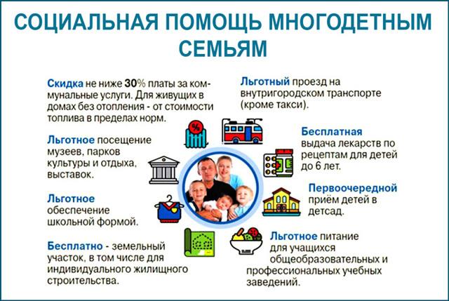 закон о бесплатном проезде многодетным семьям