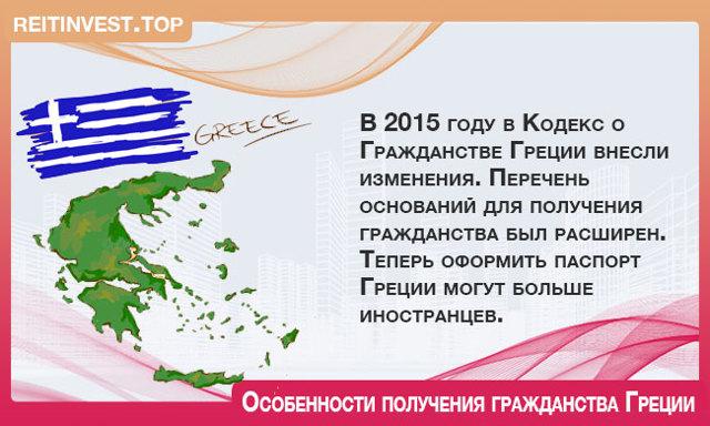 Гражданство Греции в 2020 году - для россиян, как получить, двойное, за инвестиции, через покупку недвижимости